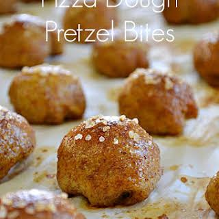 Pizza Dough Pretzel Bites.