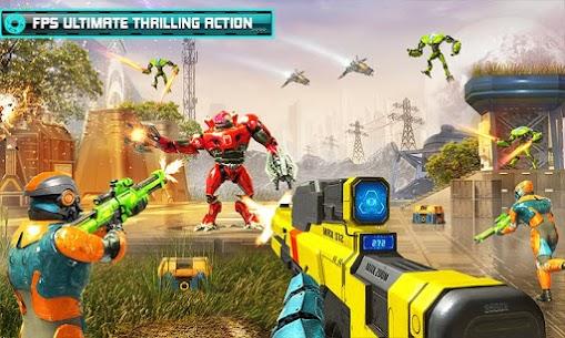 US Police Robot Counter Terrorist Shooting Games 3