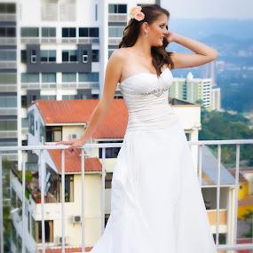 Fabulous! by Gabriel Cabrera - Wedding Bride ( love, wedding, bride, portrait )