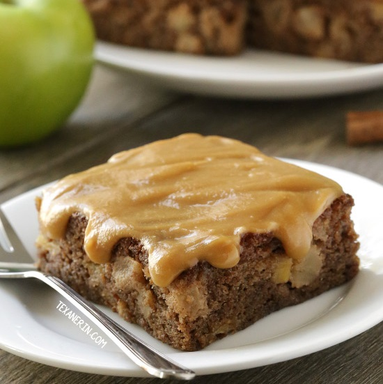 Caramel Apple Cake (gluten-free, 100% whole grain, options) Recept ...