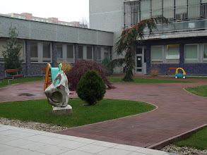 Photo: Park pri onkológii a KDD