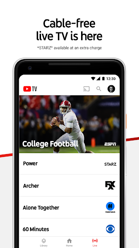 Download YouTube TV - Watch & Record Live TV MOD APK 1