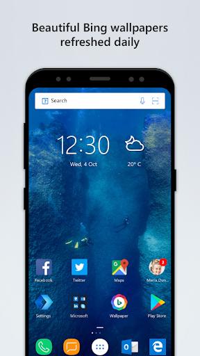 Microsoft Launcher 4.6.1.40425 screenshots 1