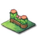 花ひらく柵