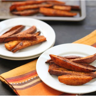 Baharat Roasted Sweet Potatoes