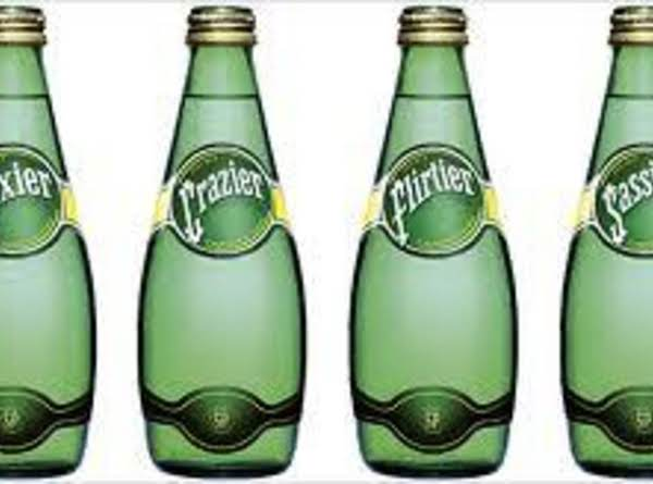 Six-pack Of Perrier With Poppy Seed Dressing Recipe
