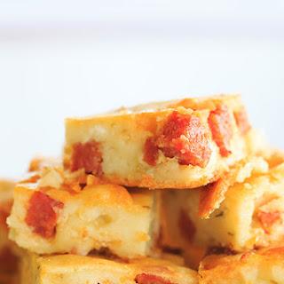 Cheesy Pepperoni Bites.