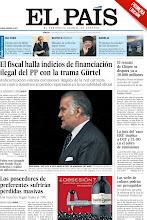 Photo: El fiscal halla indicios de financiación ilegal del PP con la trama Gürtel, el rescate de Chipre se dispara ya a 20.000 millones, la juez del 'caso ERE' implica a UGT y CC OO en el cobro de comisiones, los poseedores de preferentes sufrirán pérdidas masivas y las webs de enlaces podrán ser perseguidas, entre los titulares de la portada del 23 de marzo de 2013. http://srv00.epimg.net/pdf/elpais/1aPagina/2013/03/ep-20130323.pdf