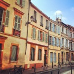 The small houses of Toulouse