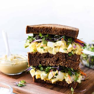Hummus and Tahini Egg Salad.