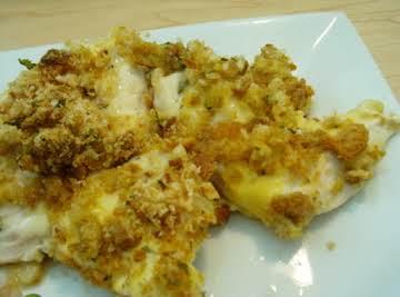Chicken Tenders & Swiss Cheese Casserole
