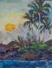"""Photo: """"Kiholo Sunset"""" - Kiholo Bay 8"""" x 10"""" (available from artist)"""