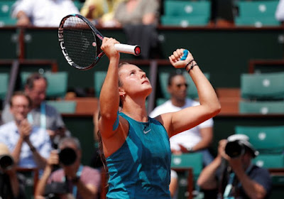 Kasatkina klopt Caroline Wozniacki in achtste finales Roland Garros