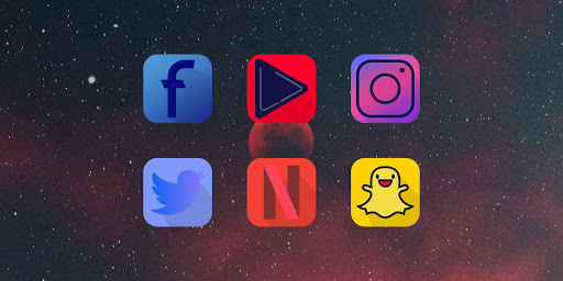 🔝 NOVA Icon Pack & Theme 2020 ss1