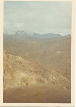Photo: Picture taken from LZ Peanuts looking across some slope.  Direction of photo unknown at present.  May 4-5, 1968 timeframe.