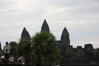 Photo: Year 2 Day 44 - Silhouette of Angkor Wat