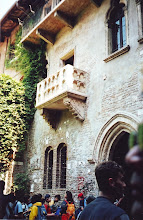 Photo: Juliet's balcony in Verona
