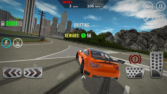 ApkMod1.Com Extreme Speed Car Simulator 2019 + МOD (Free Shopping) for Android Game Racing