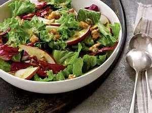 Cranberry Salad Dressing And Salad Recipe