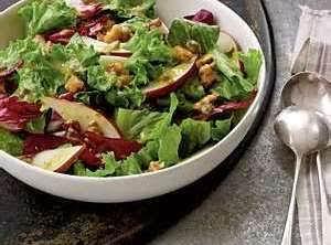 Cranberry Salad Dressing And Salad