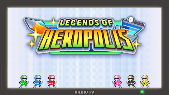 Legends of Heropolis Apk Download For Android and Iphone 5