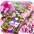 Flower garden live wallpaper APK