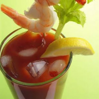 Bloody Mary with Shrimp Recipe
