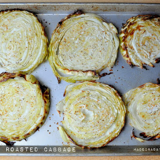 Oven Roasted Cabbage Steaks Recipe