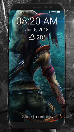 Tomb Raider HD Wallpapers Lock Screen 1.0 screenshots 3