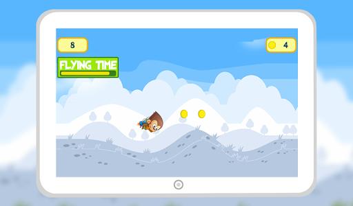 Monkey Jungle Jet Pack Flying screenshot 3