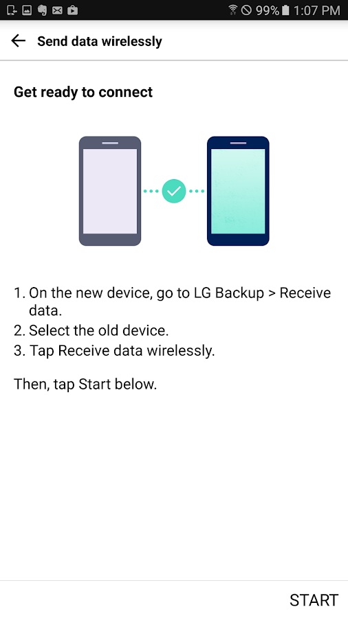 LG Backup (Sender)- screenshot