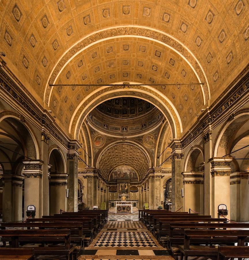 Chiesa S.Maria presso S.Satiro - Milano  by Antonello Madau - Buildings & Architecture Places of Worship