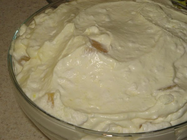 In a large bowl , combine cottage, sour cream and jello, dry right from...