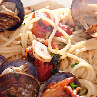 Mario Batali's Linguine with Clams.