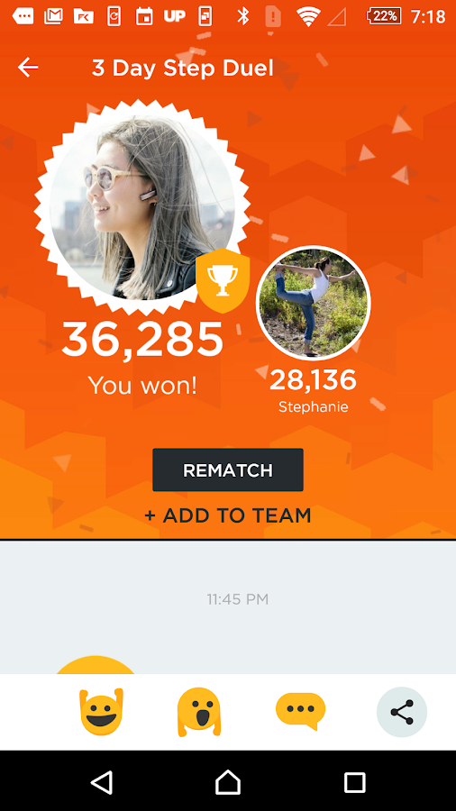 UP® – Smart Coach for Health- screenshot