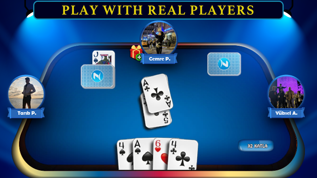 Pisti Card Game Android App Screenshot