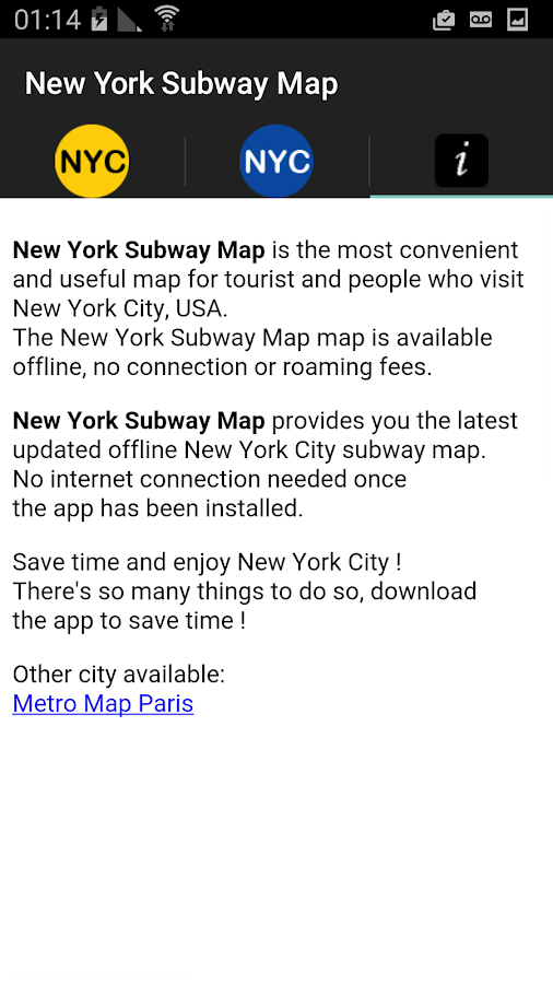 Map Of Metro New York.New York Subway Map Nyc Metro Android Apps On Google Play