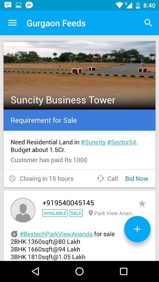 Plabro for Real Estate Brokers- screenshot