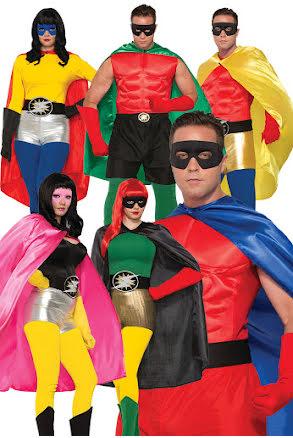 Hero cape, vuxen