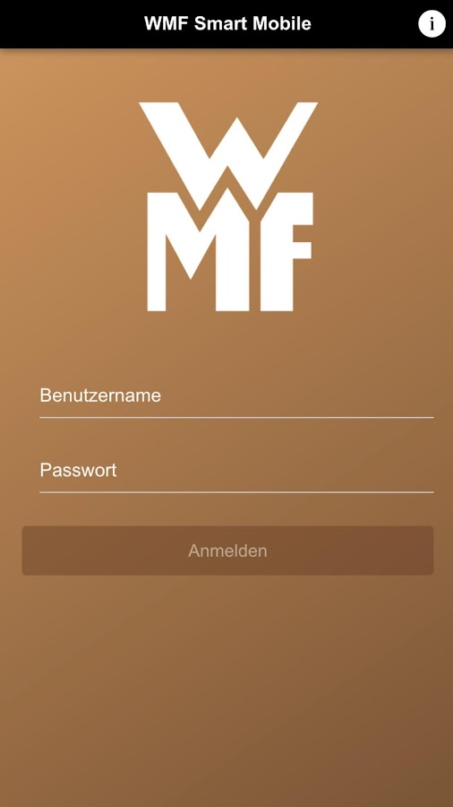 WMF CoffeeConnect- screenshot