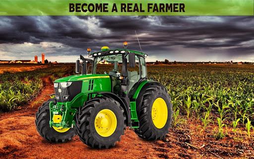 Farming Simulator 19: Real Tractor Farming Game 1.1 screenshots 17