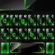 Green Glass Tech Keyboard Theme Download on Windows