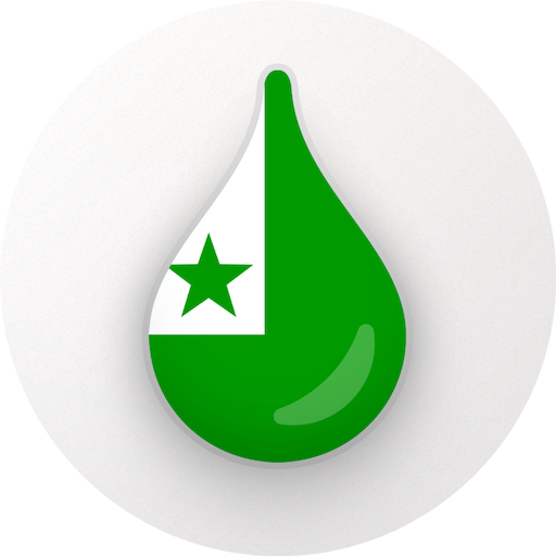 Drops: Learn Esperanto language and words for free Icon