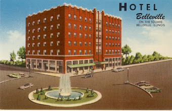 Photo: Hotel Belleville - built 1931 1950's post card Current site of the Meredith Memorial Home