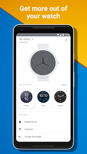Wear OS by Google Smartwatch (was Android Wear) Android App Screenshot
