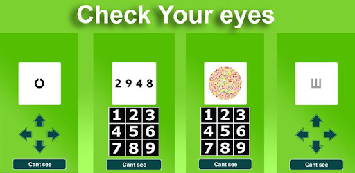 Check your eyes for PC