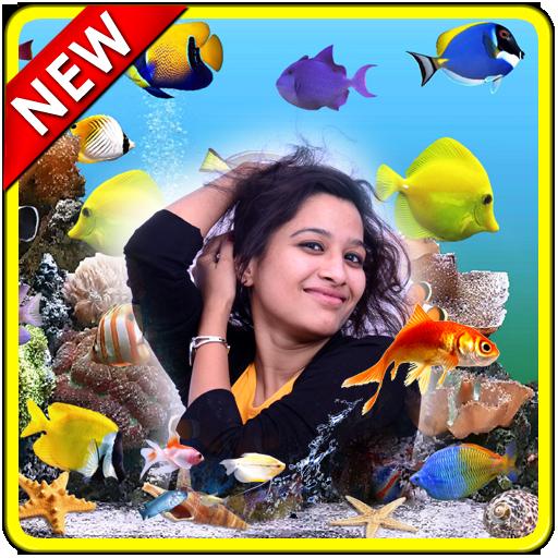 Aquarium Photo Frames New 攝影 LOGO-玩APPs