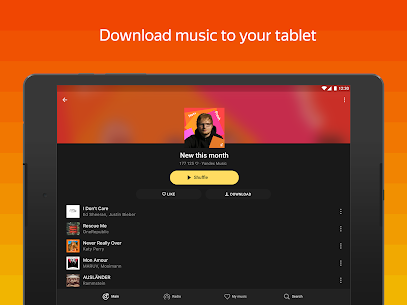 Yandex Music Mod Apk 2020.10.1 Latest (Full Unlocked) 10