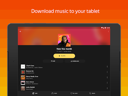 Yandex Music and podcasts — listen and download Screenshot