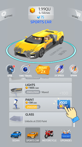Idle Car 2.1.4 screenshots 4